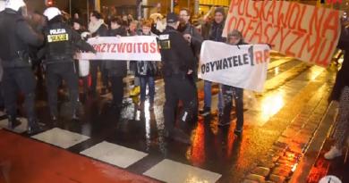 Obywatele RP na trasie Marszu Wielkiej Polski Niepodległej