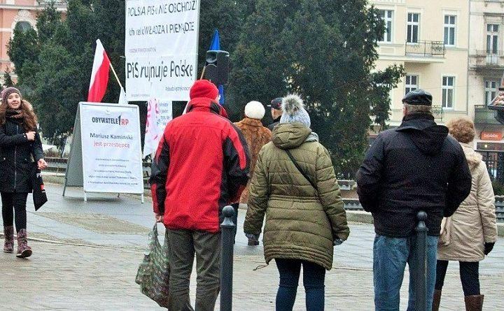 Pikieta Obywateli RP w Bydgoszczy