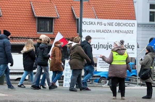 Pikieta Obywateli RP wBydgoszczy