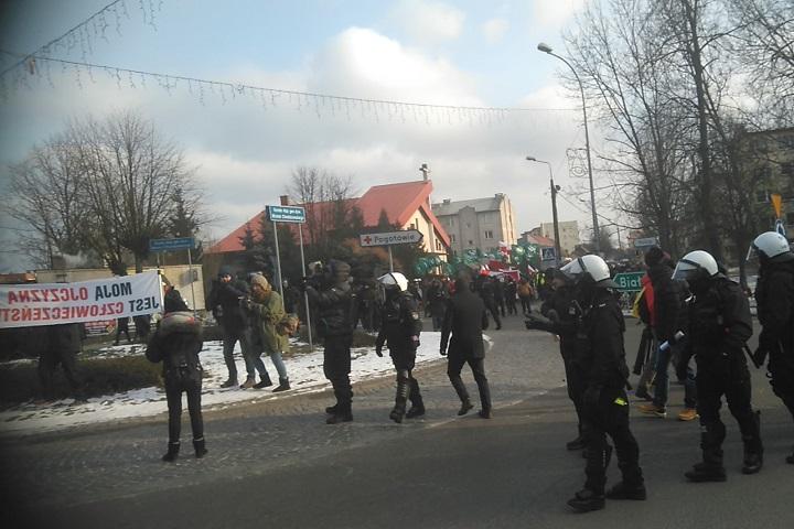 Hajnówka, marsz narodowców