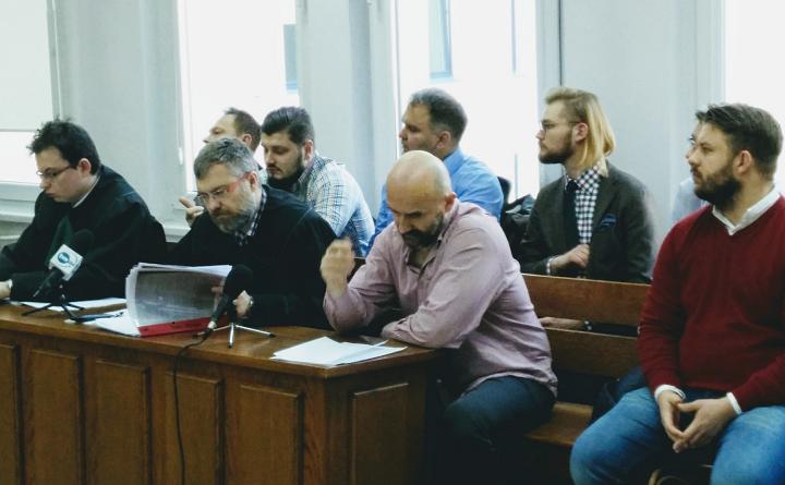 Czwarta rozprawa w procesie o blokowanie wyjazdu z Sejmu
