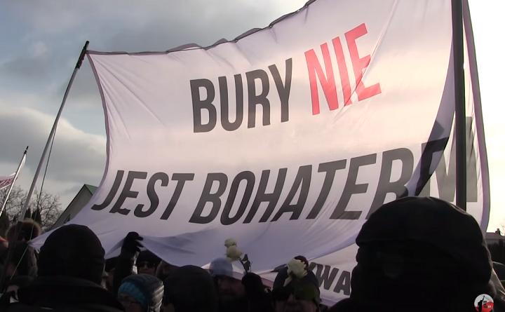 Demonstracja Obywateli RP w Hajnówce