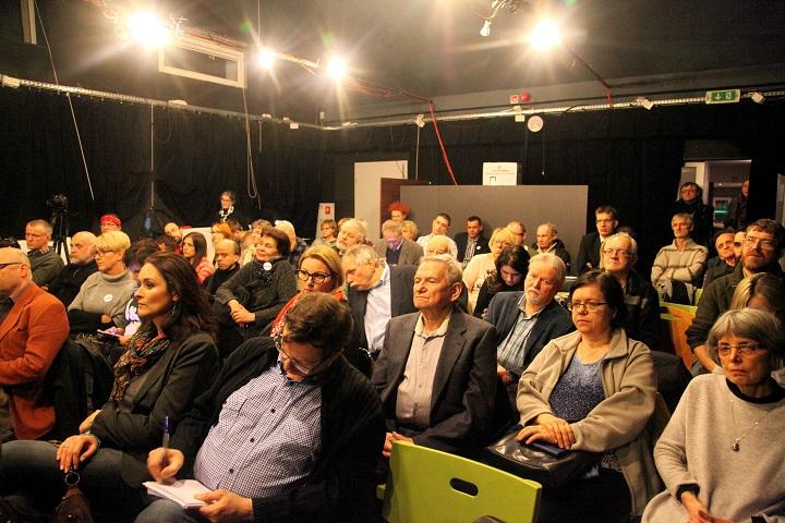 Spotkanie z Obywatelami RP we Wrocławiu w sprawie powszechnych prawyborów przez wyborami do samorządów
