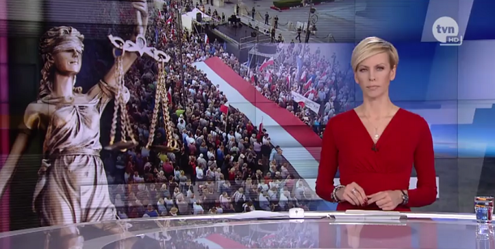 TVN oprotestach Obywateli RP