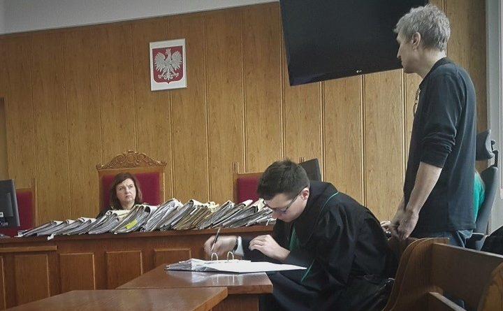 Tadeusz Jakrzewski w sądzie
