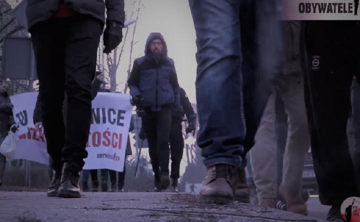 Obywatele RP na trasie marszu narodowców w Katowicach