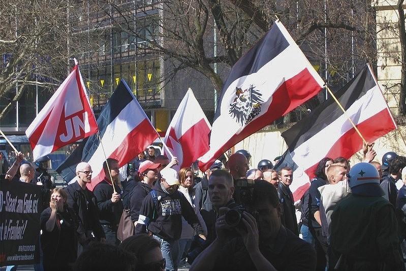 Marsz niemieckich neonazistów wMonachium 2005