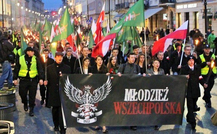 Marsz Młodzieży Wszechpolskiej w 2013 roku, fot. Wikipedia