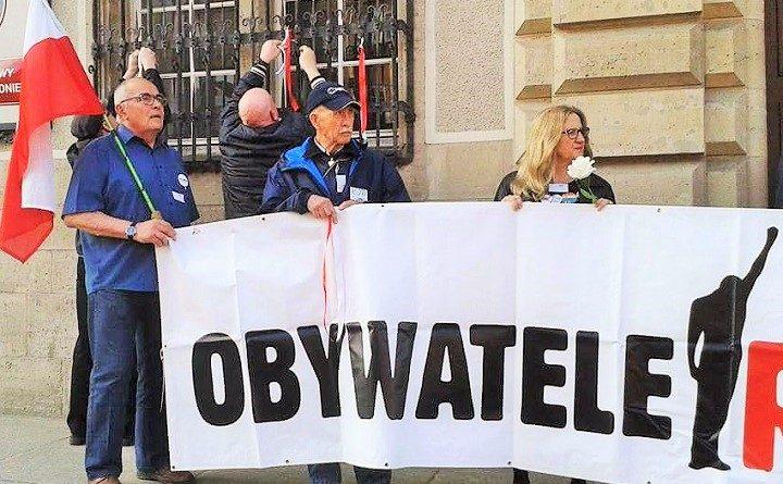 Pikieta Obywateli RP w Gdańsku w sparwie wolnych sądów