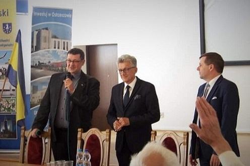 Prokurator Piotrowicz naspotkaniu wOstrzeszowie