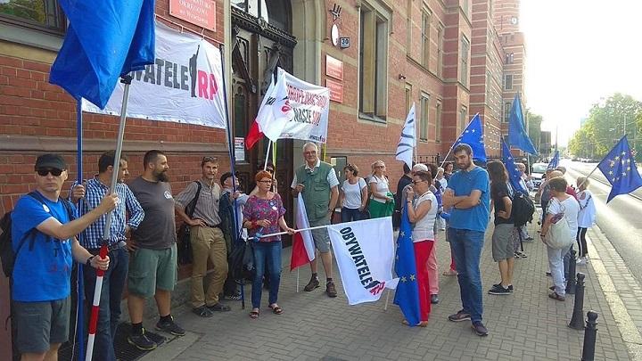 Pikieta Europo, nieodpuszczaj weWrocławiu