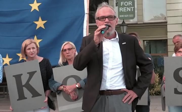 Demonstracja Europo, nie odpuszczaj we Wrocławiu, 15 czerwca 2018
