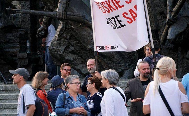 Demonstracja Europo, nie odpuszczaj w Warszawie, 11 czerwca 2018