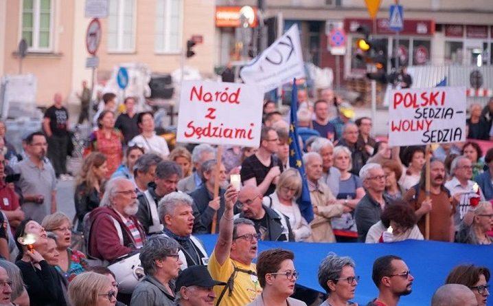 Demonstracja przed SN, 29 czerwca 2018