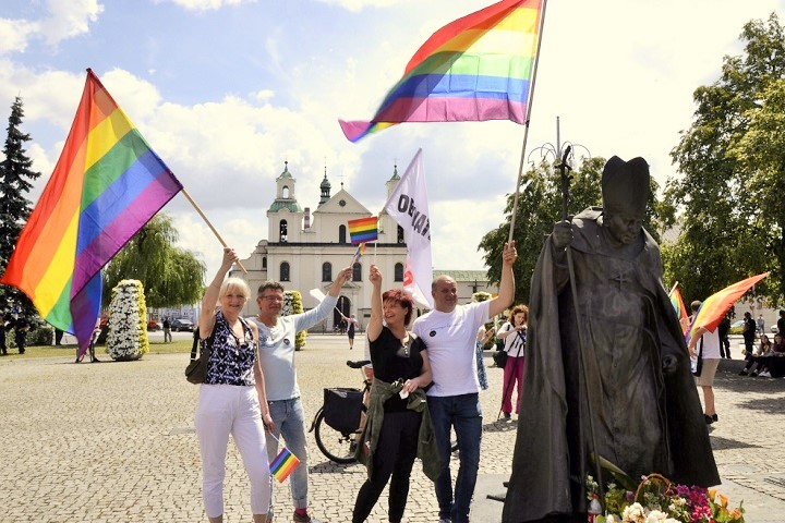 Pierwszy Marsz Równości wCzęstochowie, 8.07.2018