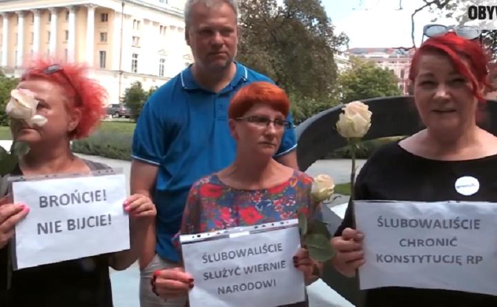 Obywatele RP na święcie policji we Wrocławiu