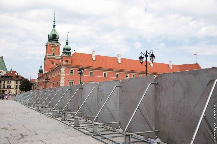 Warszawa zabarierkami. 10 lipca 2017