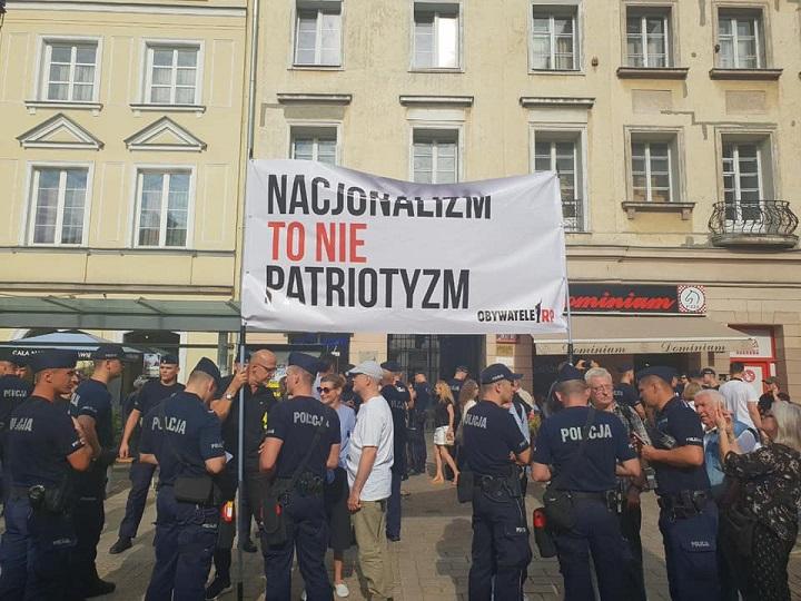 Marsz ONR, Warszawa, 15 sierpnia 2018