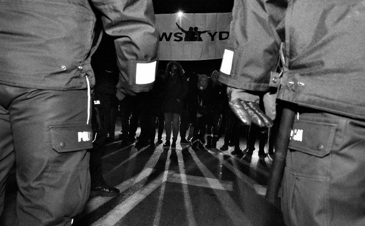 Blokada Marszu Żołnierzy Wyklętych, 1 marca 2018
