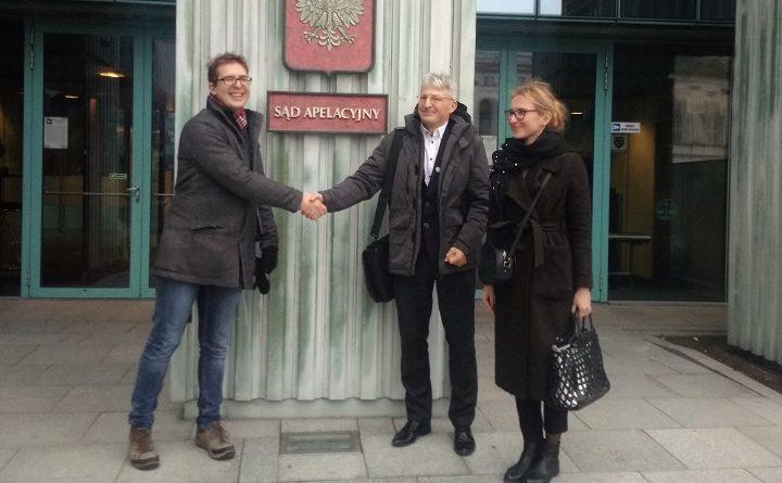 Sławomir Nałęcz, analityk w Głównym Urzędzie Statystycznym po rozprawie w Sądzie Apelacyjnym