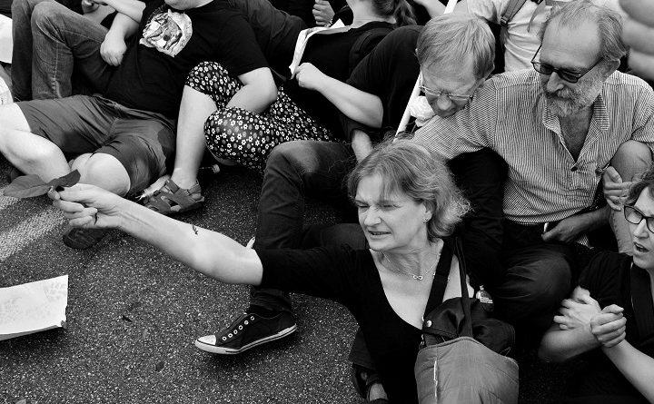 Blokada marszu ONR i Młodzieży Wszechpolskiej, 15 sierpnia 2017