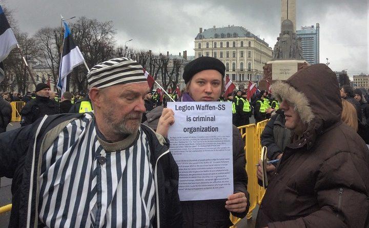 Demonstracja 16 marca w Rydze
