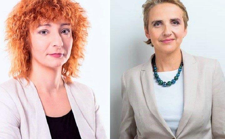 Joanna Scheuring-Wielgus i Urszula Kuczyńska
