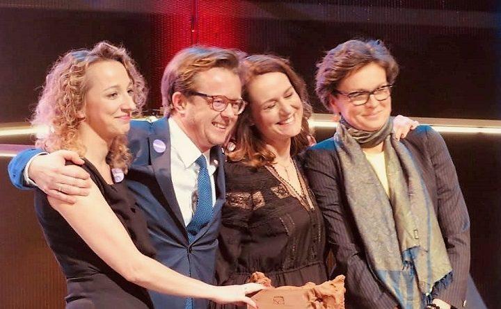 Maria Ejchart-Dubois, Sylwia Gregorczyk-Abram, Paulina Kierzkowska-Knapik i Michał Wawrykiewicz otrzymali nagrodę Radia TOK FM