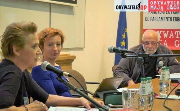 Wysłuchanie kandydatów do europarlamentu