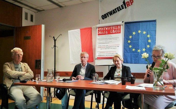 II wysłuchanie publiczne kandydatów do Parlamentu Europejskiego we Wrocławiu