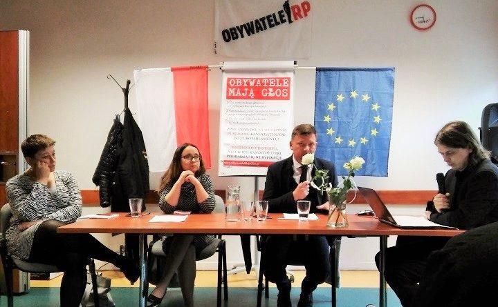 Marcelina Zawisza i Michał Syska poddali się publicznemu wysłuchaniu kandydatów do Parlamentu Europejskiego